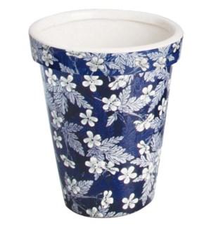 Long tom flowerpot Blue Blosso