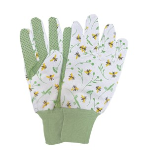 Bee print gloves