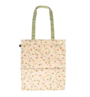 Bee print shopping bag