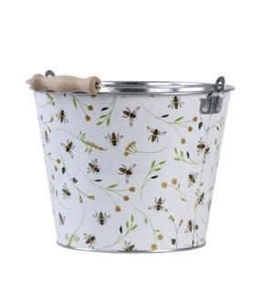 Bee print bucket