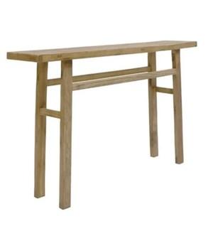Logan Console Table Large WHT