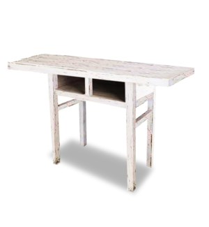 """Richard Console Table,White Pinewood"""