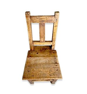 Antique Child Chair Natural
