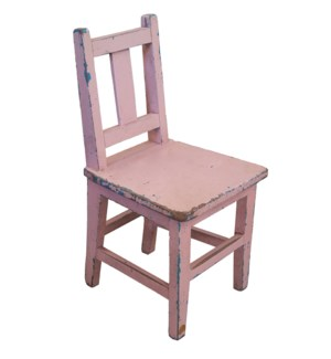 Antique Child Chair Pink LC