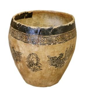 Antique Paper Pots