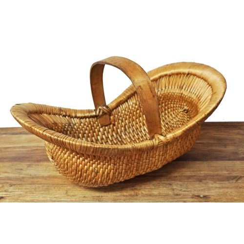 Antique Willow Basket