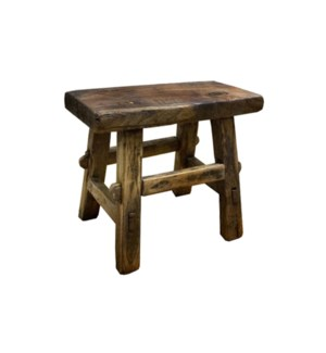 Rect. Antique Mini Stool S