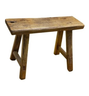 """Rect. Antique Mini Stool, L"""