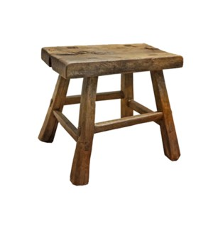 """Rect. Antique Mini Stool, M"""