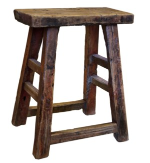 Antique Rectangular Stool
