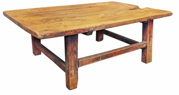 Antique Wooden Coffee Table Small 31x16x11inch