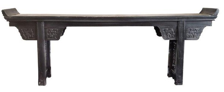 87 Inch Antique Chinese long console table, S, 87x11.75x32 inches, ONE OFF PIECE *50 Percent Off Or