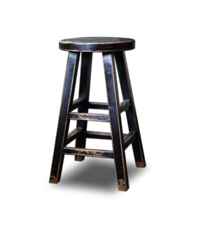 Kovu Round Counter Stool Black