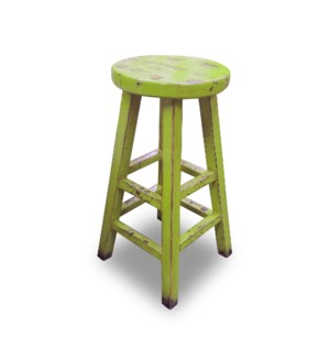 Kovu Round Counter Stool Lime Green
