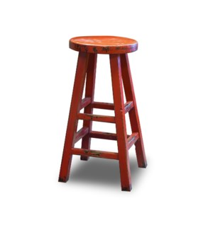 Kovu Round Counter Stool Red