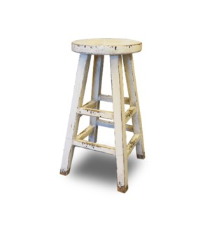 Kovu Round Counter Stool White