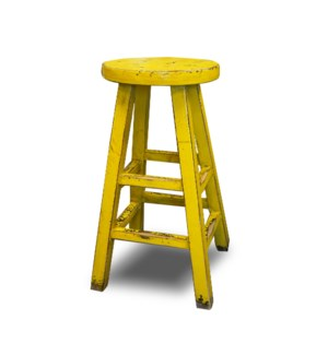 """Kovu Round Counter Stool Yellow, On Sale 30% Off"""