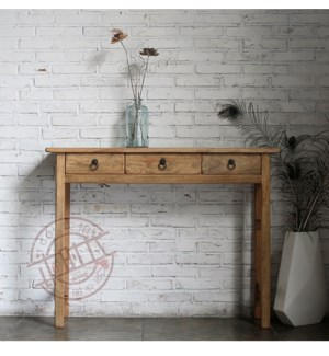 """Small Console Table, Natural"""