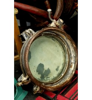 """Old Ship Porthole, 16X16"""