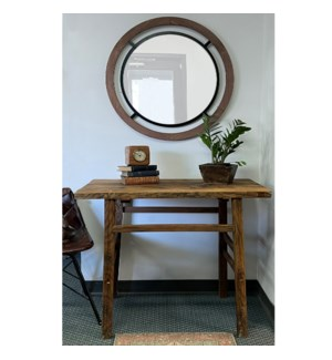 Wide Vintage Console Table *Shape & Size May Vary*