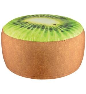 """""""Outdoor pouffe kiwi. Polyester, LC, OS"""""""