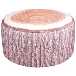 Outdoor pouffe tree trunk. Polyester, PVC. 58,0x58,0x32,5cm. oq/6,mc/12 Pg.122