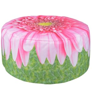 Outdoor pouffe gerberadaisy.FD