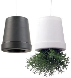 Upside down flowerpot ass. M. PP, non woven, foam, metal. 12,7x12,7x13,1cm. oq/12,mc/48 Pg.83