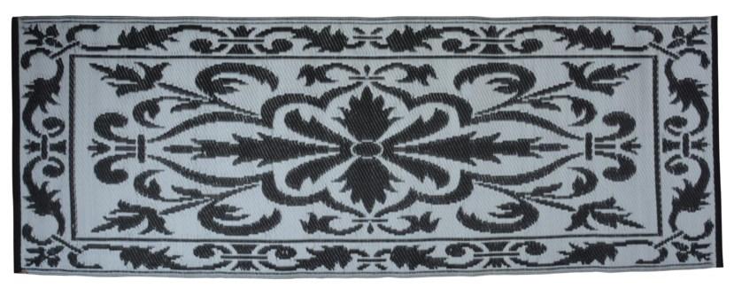 Balcony carpet 70x200cm bl./white. PP. 72,4x197,5x0,8cm. oq/6,mc/6