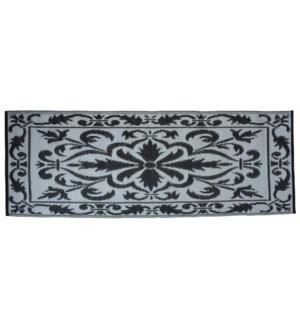Balcony carpet 70x200cm bl./wh