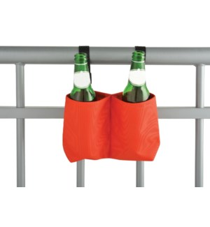 Balcony bottle holder. Polyest