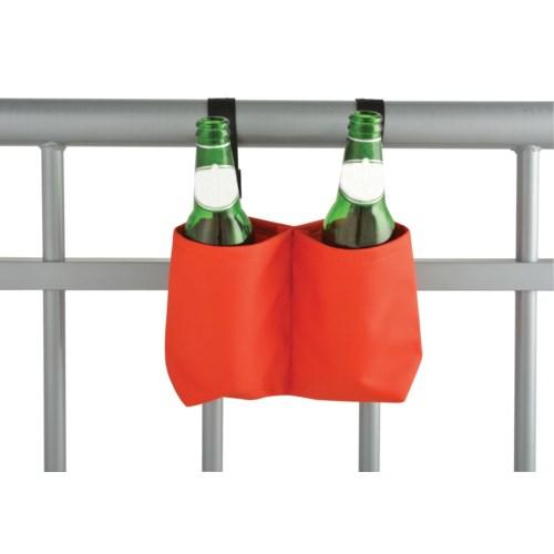 Balcony bottle holder. Polyester. 20,0x7,0x14,0cm. oq/12,mc/96FD