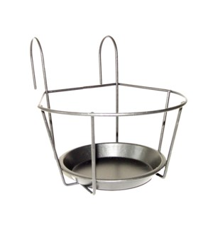 Balcony pot hanger gray S