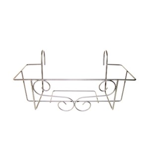 Balcony box hanger gray M