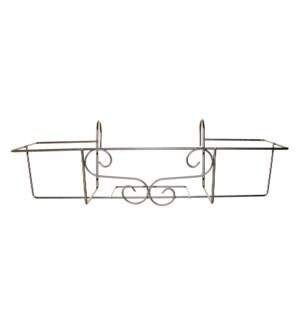 Balcony box hanger gray L