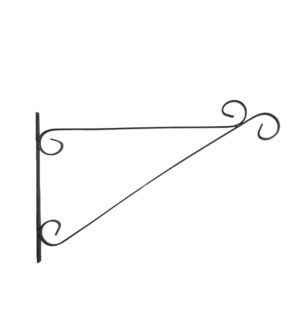 Hanging basket hook scroll XL