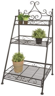 Stair etagere folding - (21.7x17.9x45 inches)
