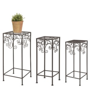 Plants tables set of 3