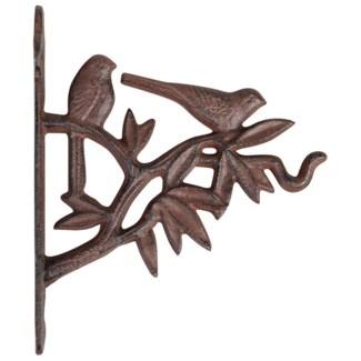 Bird silhouette hook. Cast iron. 18,6x5,0x21,6cm. oq/12,mc/12 Pg.140