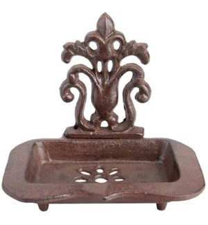 Cast iron soap dish. Cast iron