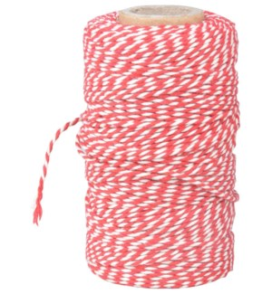 """Striped cooking yarn. Cotton. 6,2x6,2x10,8cm. oq/24,mc/144 Pg.89"""