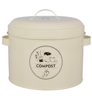 """Composter tin. Carbon steel,"""