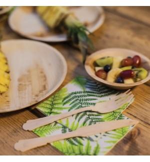 Paper napkins fern 25x25 cm. 0