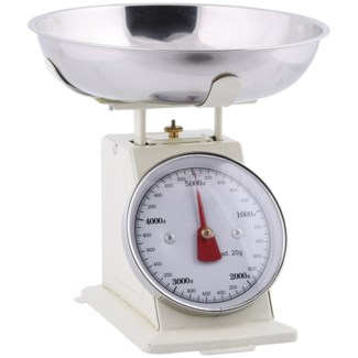Vintage scale - 8.3x8.4x8.3in.