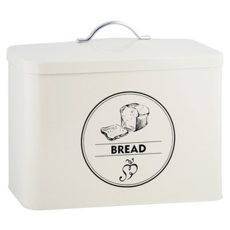 Storage tin bread, Galvanized steel - 13.6x7.5x11.7in.