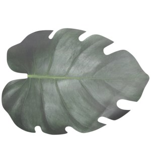 """Paper place mats leaf shape set/10, Paper - 18.2x12.9x0in."""