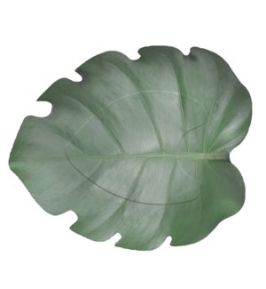 Paper plate leaf shape set/8 - 10.7x9.1x0.9in.