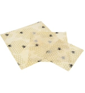 Beeswax wraps set/3