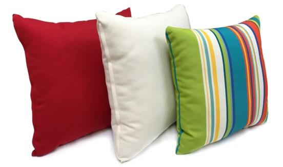 Striped Cushions, Set/3, 17x17