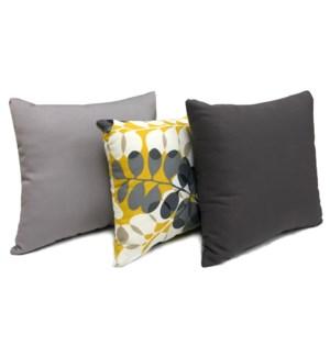 Tropic Cushions, Set/3, 17x17